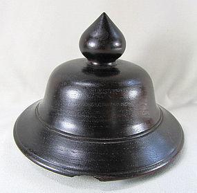 """""""Hong Kong"""" made Hardwood Top for urn or vase"""