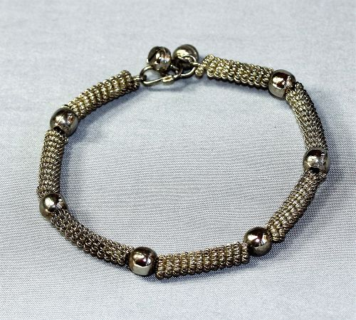 Thai Silver Bracelet with filigree work
