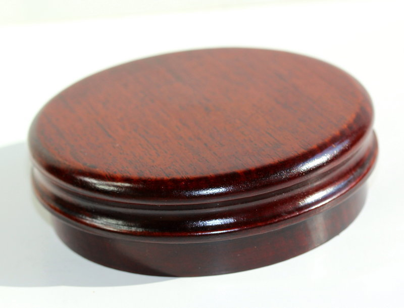Chinese Rosewood Top for jar