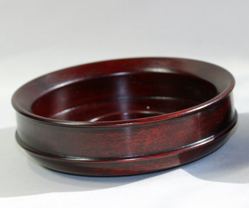Chinese Hardwood Display Top for jar