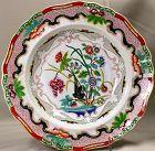 "English Staffordshire Ironstone ""Indian Stone China"" Soup Plate"