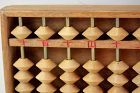 Chinese Hardwood counting Abacus