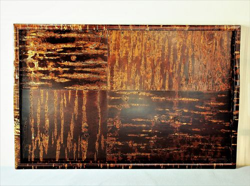 Japanese Cherry Wood Veneer large serving Tray