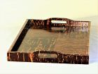 Japanese Wood large serving Tray