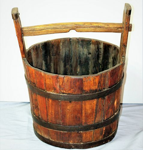 Chinese wood water Bucket