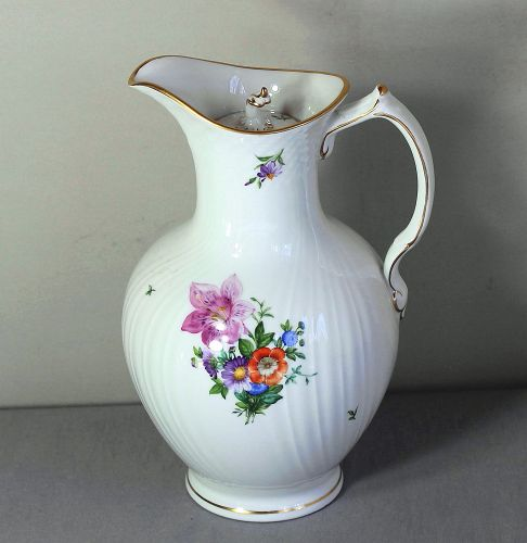 "Danish ""Royal Copenhagen"" Porcelain Coffee Pot"