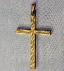Gilded Cross Pendant