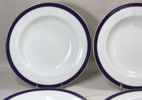 English Royal Worcester Soup Plates(6), Tiffany & Co.