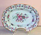 Chinese Export Famille Rose Porcelain Barber's Bowl