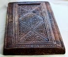 Tibetan heavy and large carved  Wooden Manuscript Cover