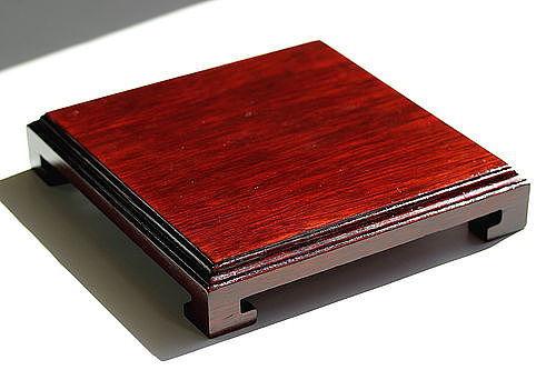 Chinese Hardwood square Display Stand