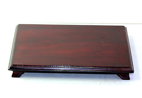 Chinese Hardwood rectangle shape Display Stand