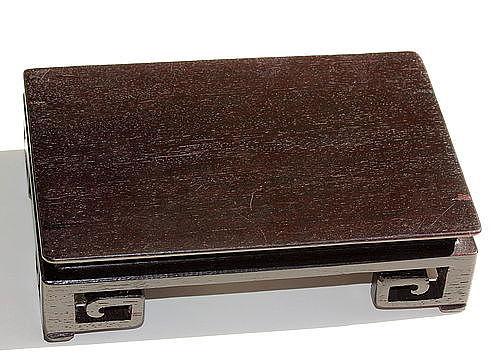 Chinese Hardwood rectangle shape Display Stand