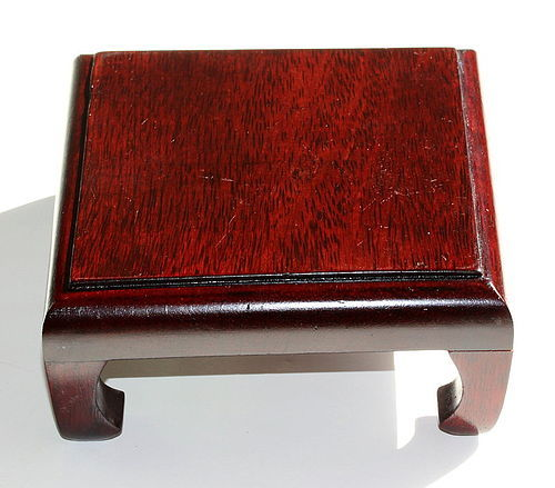 Chinese Hardwood square shape Display Stand