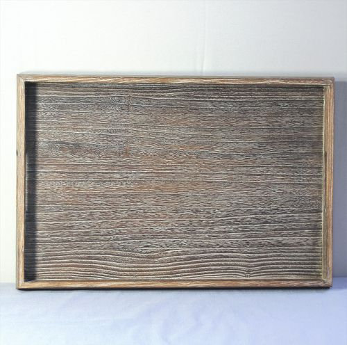 Japanese Kiri wood serving Tray