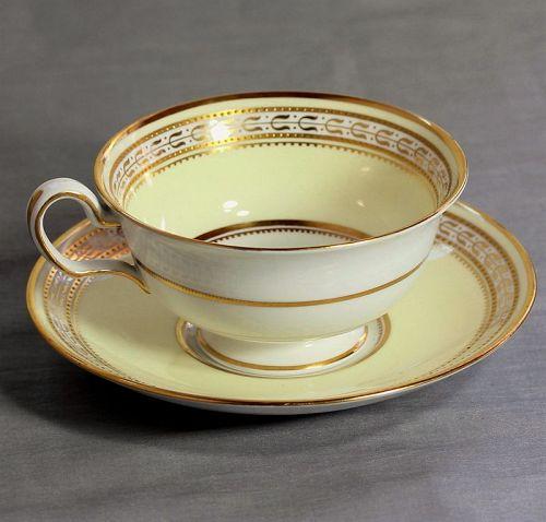 11 English Spode Copeland Gold rim Porcelain Cup and Saucer set