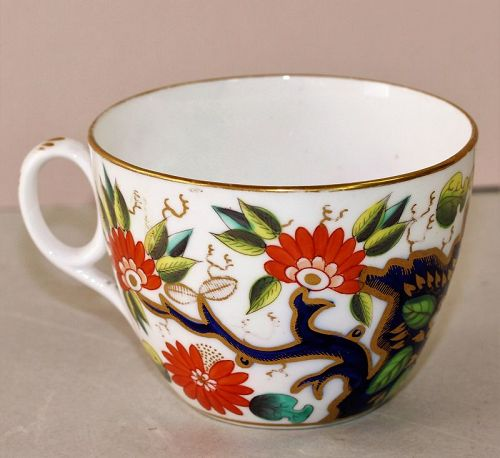 English Porcelain Imari pattern Cup, 19th C.