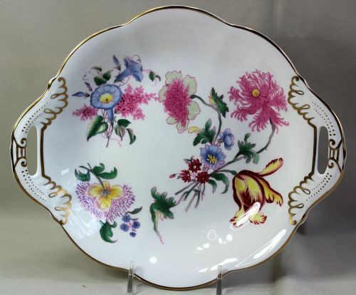 English Coalport Bone China two(2) handle serving Dish