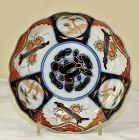 Japanese Imari Porcelain Dish, Scalloped