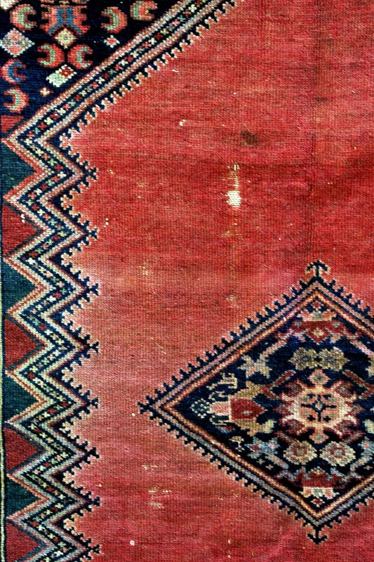 "Tabriz handmade Rug, carpet,  62"" x 55"", as is"