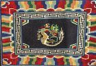 Tibetan Wool hand woven Horse Rug, Dragon design
