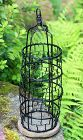 Chinese Black lacquered Wire Garden Tree Hanging Lantern