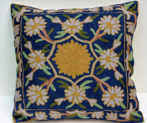 Wool knitted Pillow, Cushion