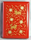 Japanese Vintage lacquered Red Photo Album