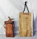 Japanese hanging Ikebana basket