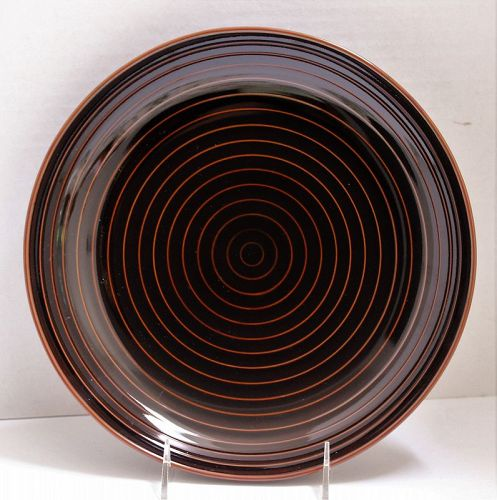 Japanese Contemporary Ceramic serving Charger, Serving Dish
