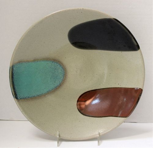Japanese Contemporary Ceramic Charger, deep serving Platter
