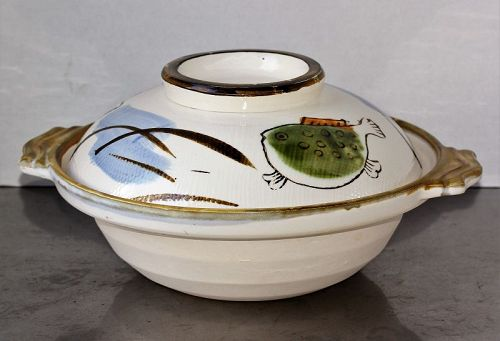 Japanese Contemporary Ceramic Cooking Hot pot