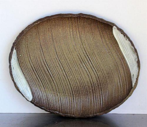 Japanese Contemporary Ceramic Serving Platter, serving Dish
