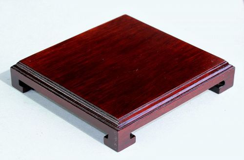 Chinese Hardwood Square shape Display Stand