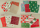 CHRISTMAS WRAPPING PAPER (18 SHEETS) -