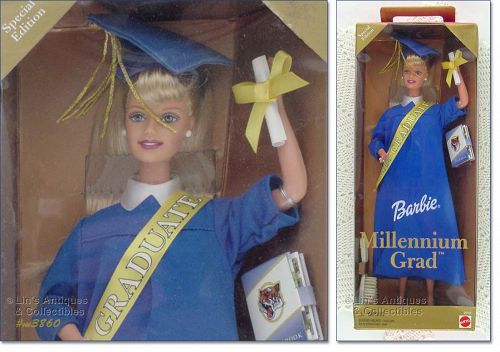 SPECIAL EDITION 2000 BARBIE UNIVERSITY OF KENTUCKY MILLENNIUM GRADUATE