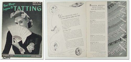 BOOK NO. 159 � �NEW THINGS HAPPEN TO TATTING� (1941)