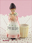 ENESCO � PRAYER LADY TOOTHPICK HOLDER