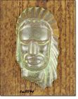 FRANKOMA POTTERY VINTAGE INDIAN HEAD MASK SMALL SIZE