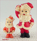 GURLEY CANDLES � TWO SANTAS