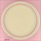 McCOY POTTERY � PINK AND BLUE CHOP PLATE /PLATTER