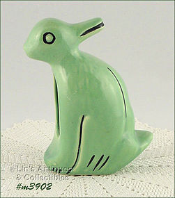 WELLER POTTERY � DUCK / RABBIT SHAPED PLANTER