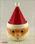 McCOY POTTERY � SANTA COOKIE JAR / BANK