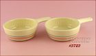 McCOY POTTERY � PINK AND BLUE CASSEROLES (2)
