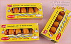 VINTAGE NOMA LITES YELLOW C-6 BULBS IN ORIGINAL BOX / PACKAGE