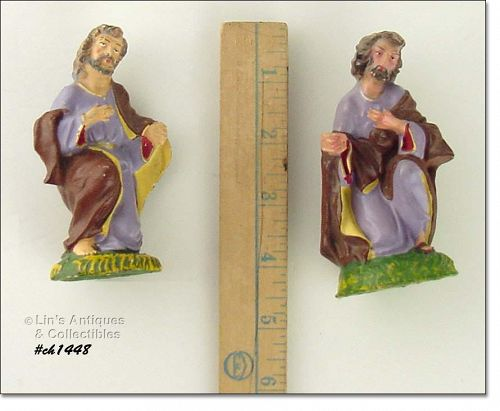 TWO VINTAGE NATIVITY FIGURES YOUR CHOICE