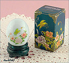 AVON � ORIENTAL EGG FILLED WITH PATCHWORK COLOGNE