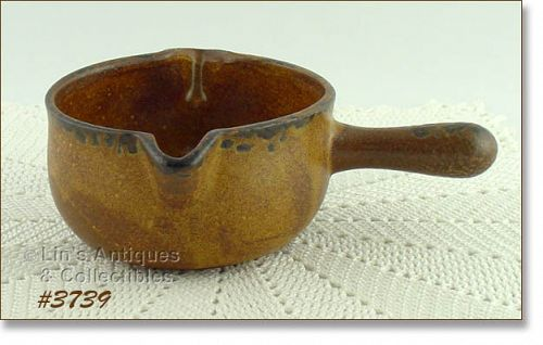 McCOY POTTERY VINTAGE CANYON DINNERWARE LINE GRAVY SERVER