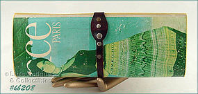 "VINTAGE ""ELE'GANCE, PARIS"" MAGAZINE HANDBAG / PURSE"