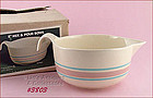 McCOY POTTERY � PINK AND BLUE BATTER BOWL (IN BOX)